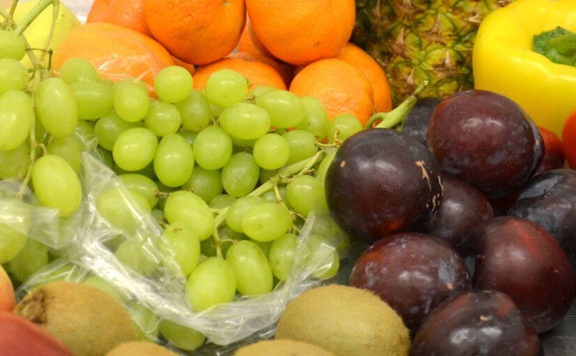 Pestrá strava plná ovoce a zeleniny