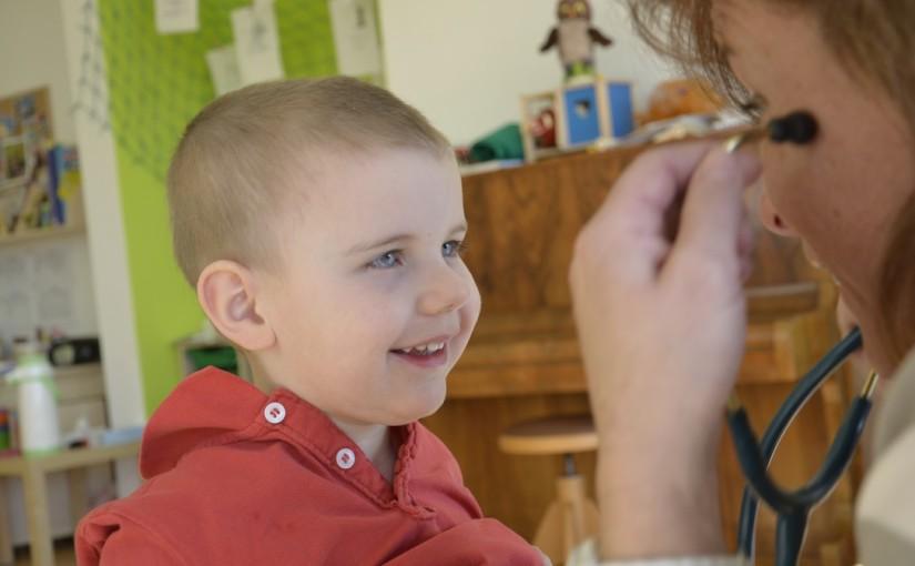Dětská lékařka ve školce – 5.října