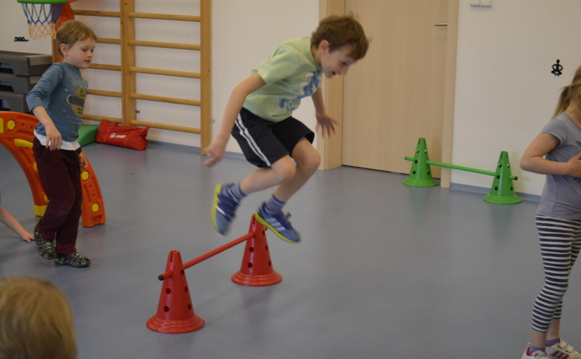 Skok do výšky – atletika pro děti