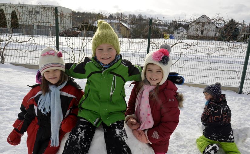 Zimní olympijské hry v mateřské školce