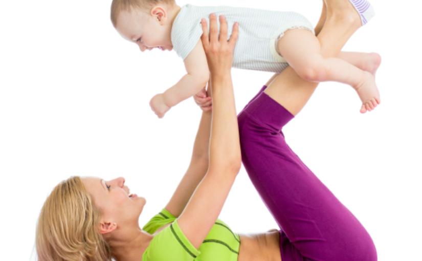 Cvičení miminek a maminek