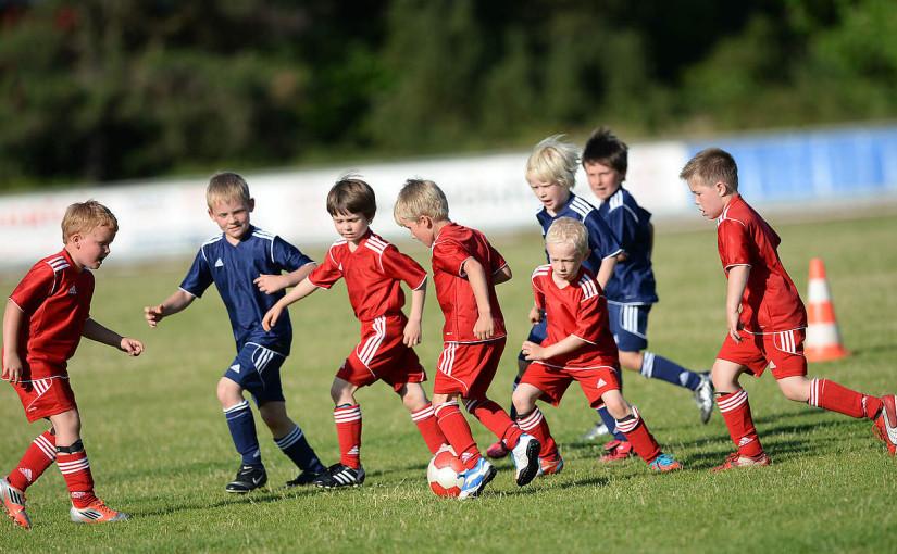 Fotbalová přípravka v mateřské školce