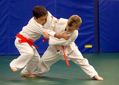 Judo a sebeobrana pro děti