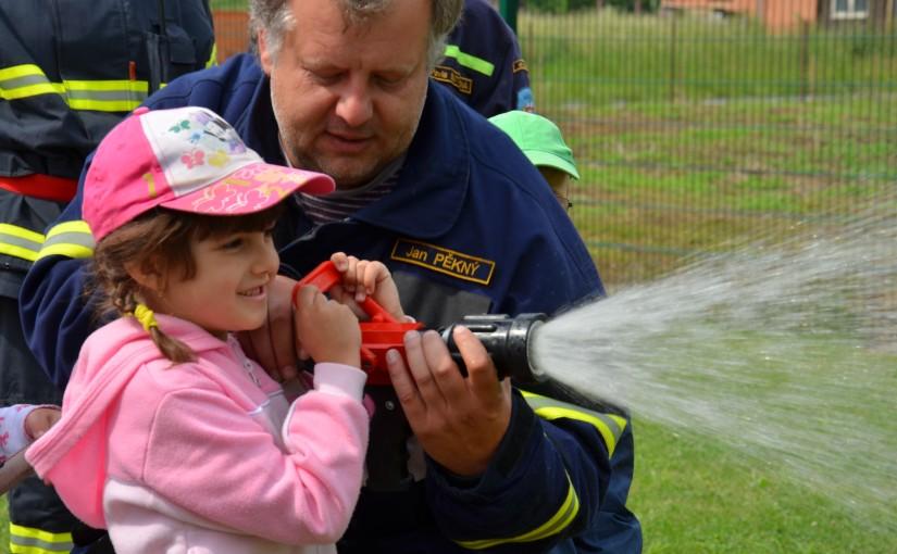 Malý požárník a velký hasič – zážitkový kurz pro děti